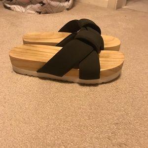 Zara sandal slides